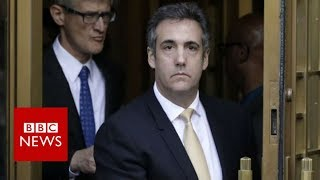 Michael Cohen in court: Trump ex-lawyer 'to plead guilty' - BBC News