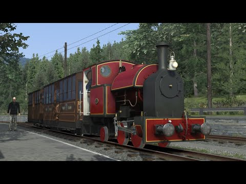 (TS2021) Driving on the Corris Railway with Corris No. 7 |