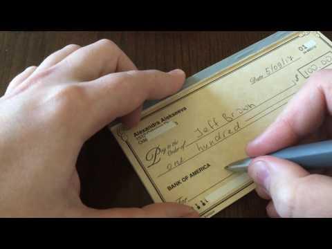 США / ВЛОГ / Банк в Америке / Как заполнить банковский чек / Виды чеков в США