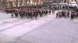 flashmob tape à loeil lmfao party rock