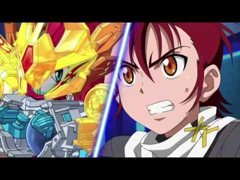 B-Daman Fireblast Ep21:Bro Showdown! Garuburn vs. Gillusion!