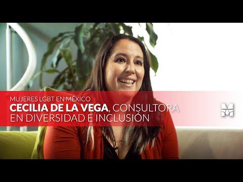 Mujeres LGBT+ en México: Cecilia De La Vega 🏳️🌈 Homosensual