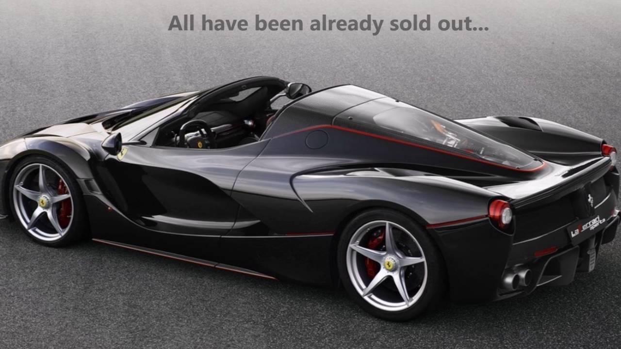 The new Ferrari La Ferrari Aperta Spider revealed  YouTube