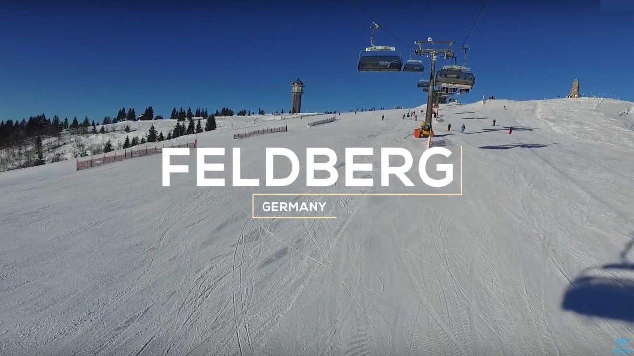 feldberg schwarzwald hohe skigebiet feldberg schwarzwald perfekter wintertag youtube