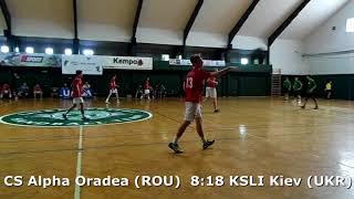 Handball. U17 boys. Sarius cup 2017. CS Alpha Oradea (ROU) - KSLI Kiev (UKR) - 10:23 (2nd half)