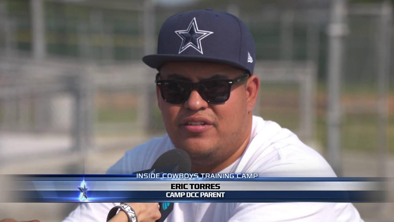 Dallas Cowboys Cheerleaders Host Camp in Oxnard - YouTube a4f042c7f