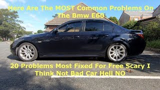 Here Are The MOST Common Problems On The Bmw E60
