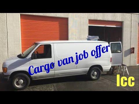 Cargo Van Job Offer As Independent Contractor