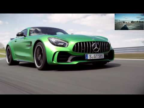 Mercedes AMG GT-R with 585 HP officially unveiled