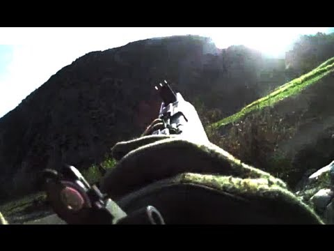 HEAVY TALIBAN FIRE PINS DOWN TROOPS ON HELMET CAM