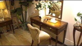 Стол туалетный Фримонт А с зеркалом в видео обзоре от Бенцони