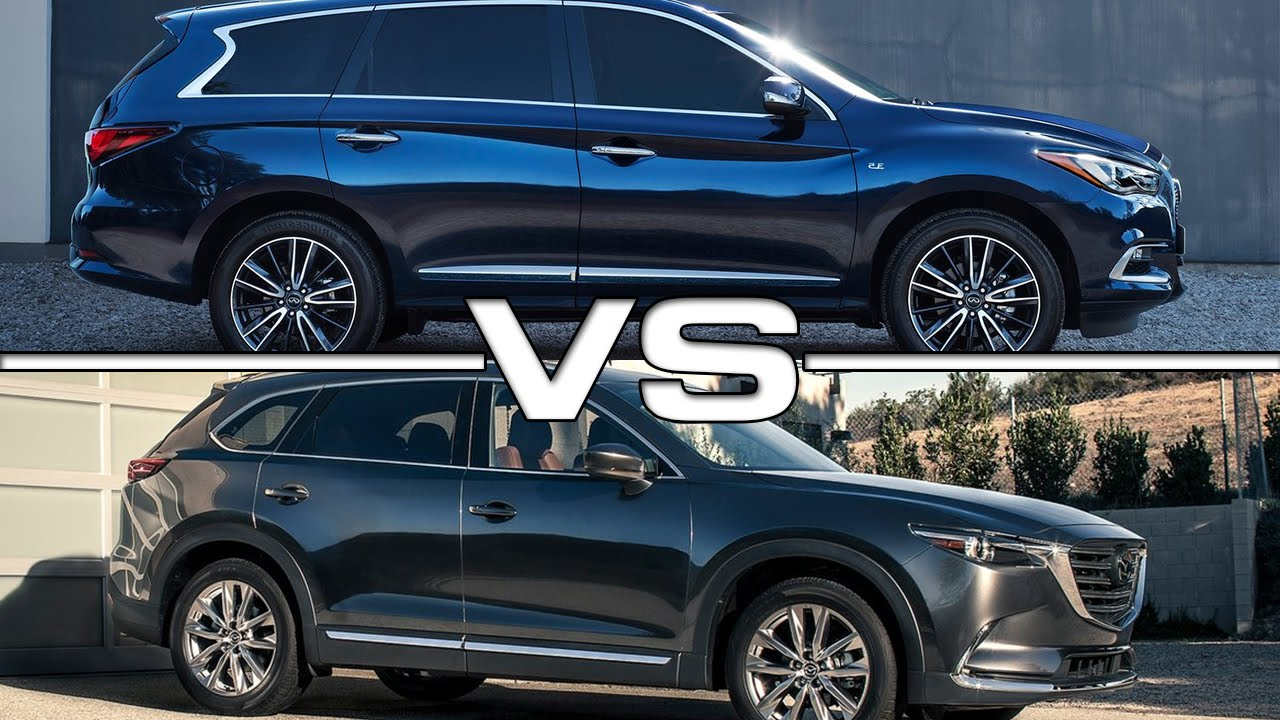 Infiniti qx60 vs mazda cx 9 youtube for Infiniti qx60 vs honda pilot