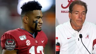 Nick Saban gives update on Tua Tagovailoa's injury vs. Tennessee | College Football on ESPN