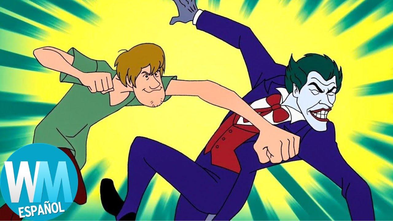¡Top 10 Mejores CROSSOVERS de Scooby-Doo!
