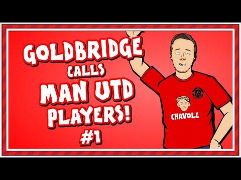 🤙🏻Mark Goldbridge calls Man Utd Players - Part 1!🤙🏻 (Man United in Lockdown)