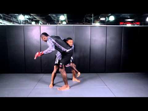 Wrestling: UFC Tyron Woodley Chain Wrestling Finish | Evolve University