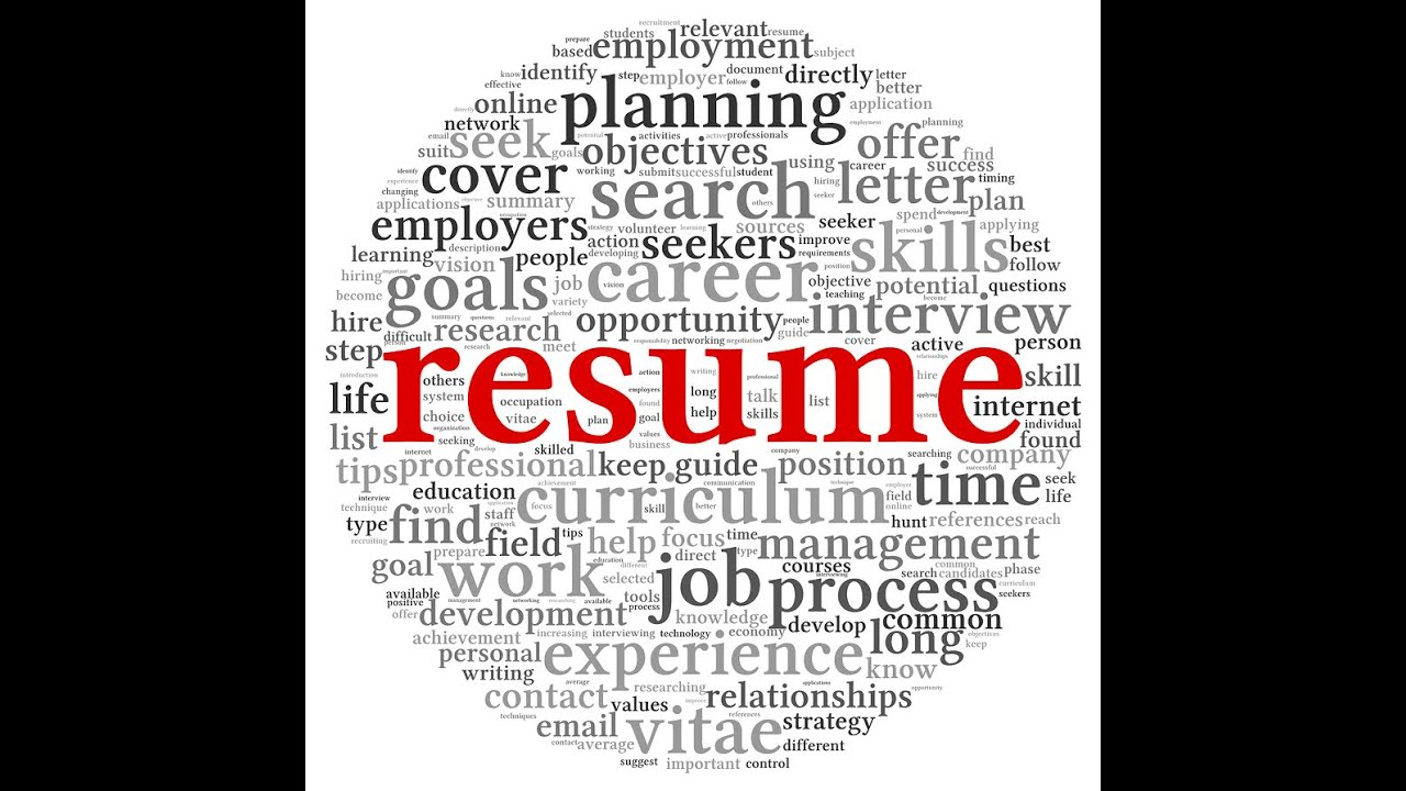 High Quality Resume 101 Video   YouTube In Resume 101