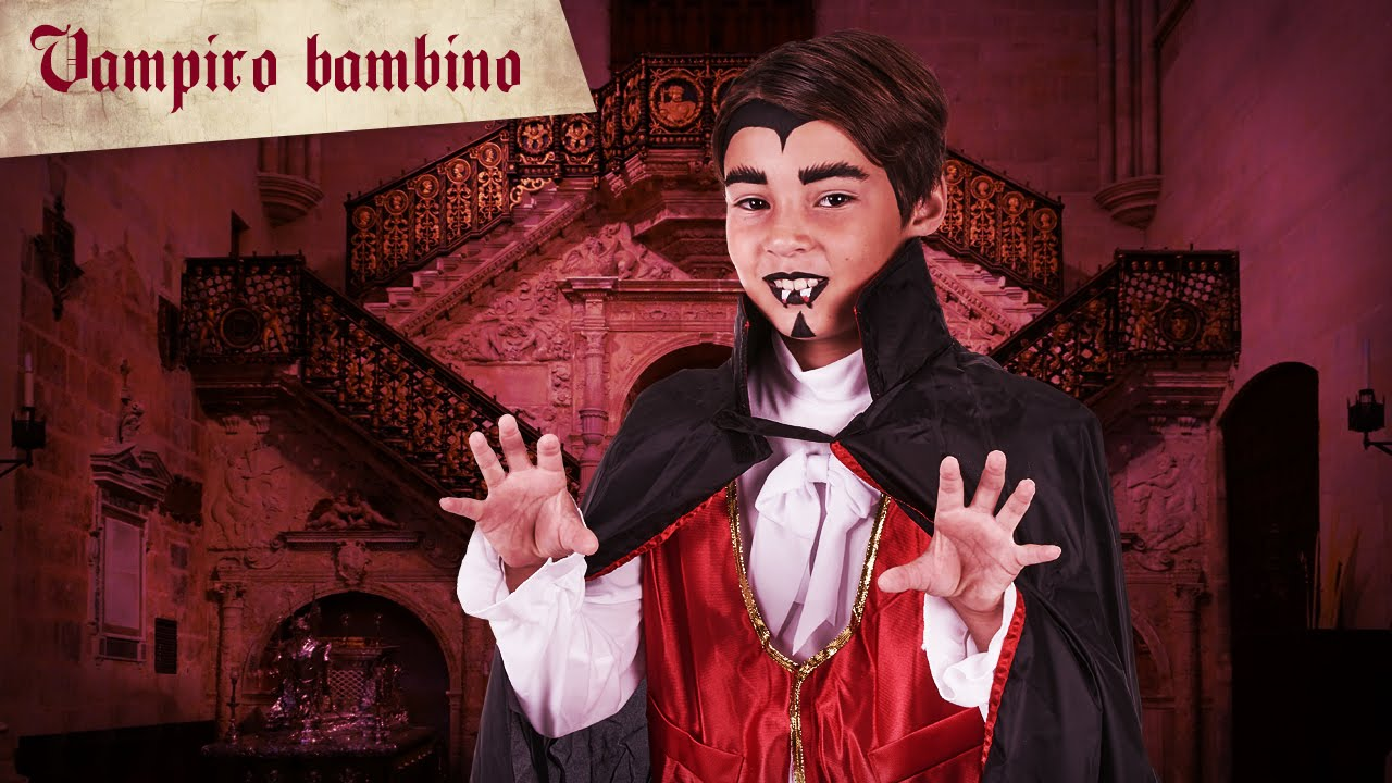 Trucco Halloween Vampiro Uomo.Trucco Halloween Vampiro Ragazzo