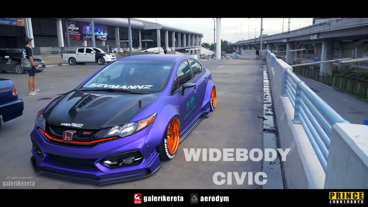 honda civic wide body best cars modified dur a flex. Black Bedroom Furniture Sets. Home Design Ideas