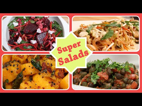 Super Salads | Quick Easy To Make Healthy And Nutritious Salad Recipes