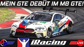GTE Debüt | BMW M8 GTE @ Nürburgring & Interlagos  | iRacing Week 3 Gameplay German Deutsch