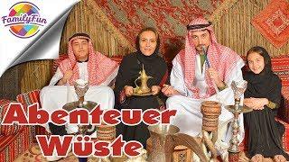 ABENTEUER WÜSTE SAFARI - Offroad, Henna, Bauchtanz und Kamelreiten | Family Fun