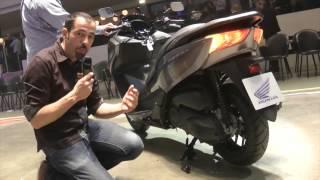 En direct de Milan EICMA : Honda Forza NSS 300, retour en forze !