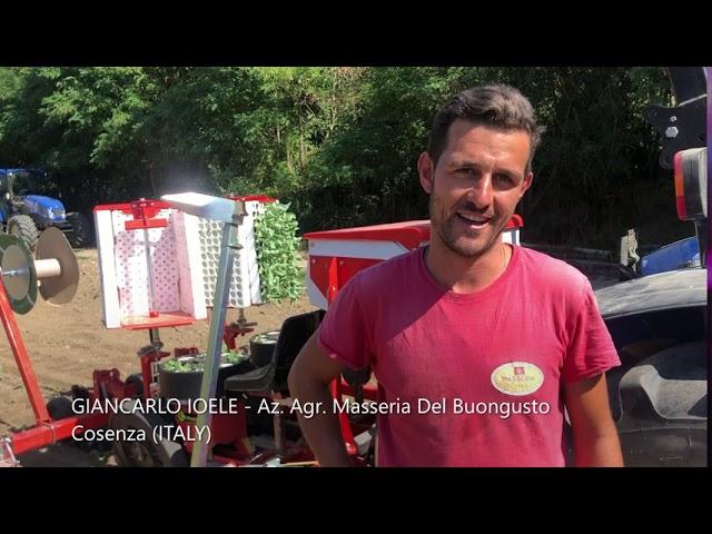 TESTIMONIAL CHECCHI & MAGLI - Giancarlo Ioele - Az. Agr. Masseria Del Buongusto, Cosenza (ITALY)