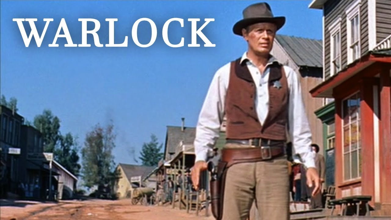 Warlock (1959) Western, Action Movie|Henry Fonda,Anthony Quinn,DeForest Kelley|Video
