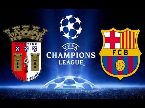 Final da Champions League - SC Braga vs Barcelona - Fifa 16 Carreira Manager EP67 [PC]