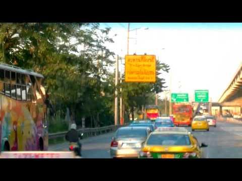 2017 曼谷自由行 - A1空調公車往返 DMK Don Mueang Airport 廊曼機場(廉航專用機場)及BTS Mo Chit空鐵站 40銖หมอชิต