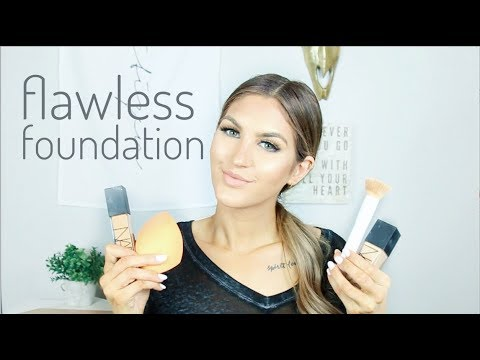 how to put on foundation correctly