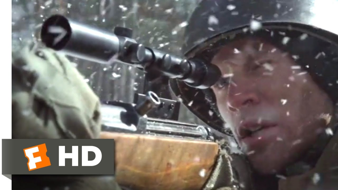 Company of Heroes (2013) - Sniper Duel Scene (1/10) | Movieclips
