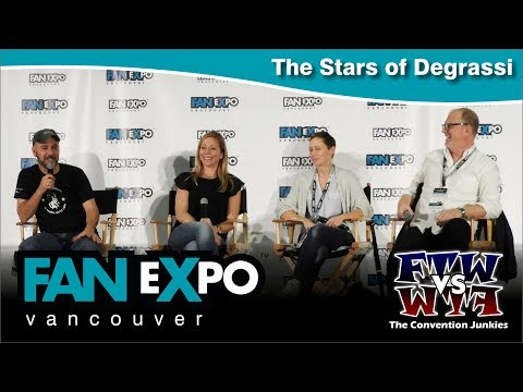 The Stars of Degrassi   Expo Vancouver 2017 Q&A Panel