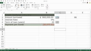Learning Excel: Use Spin Button for Data Entry