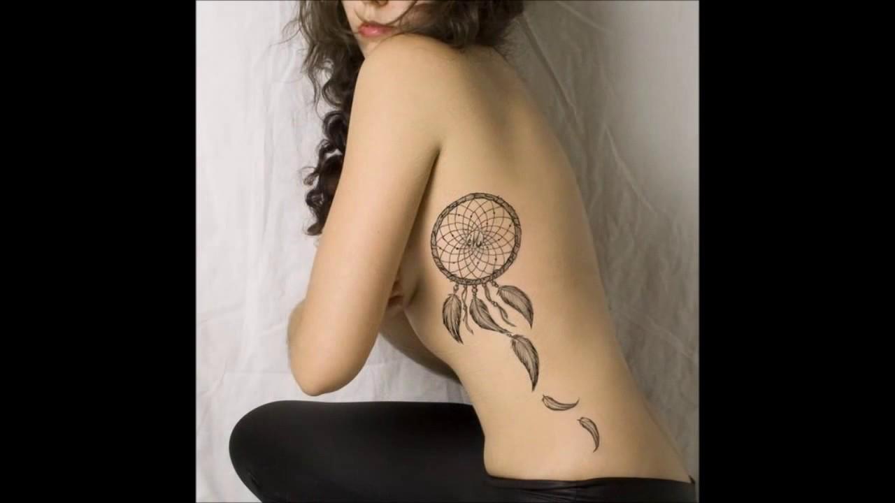 Tatuajes Para Mujeres En El Costado Youtube