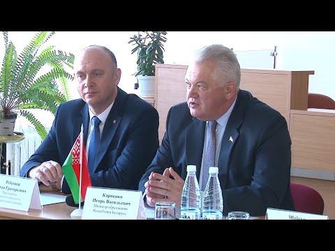 Совет молодых ученых. Разговор с Министром образования Игорем Карпенко