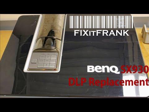 BenQ SX930 DLP Projector Repair DMD Chip Replacement