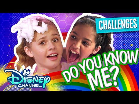 How Well Do You Know Me Challenge | Ruth & Ruby Ultimate Sleepover | Disney Channel