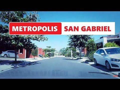 Visitando Metropoli San Gabriel El Salvador  VIDEO SV