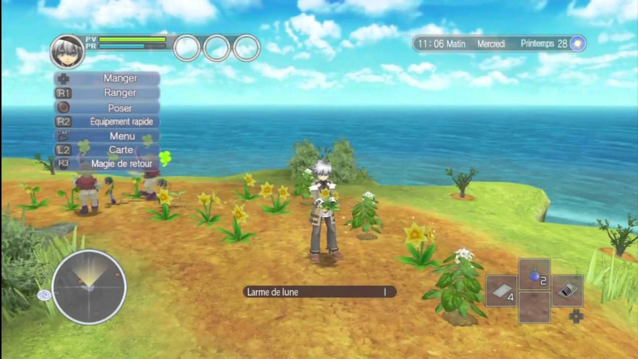 rune factory oceans test et gameplay youtube