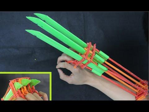 Как сделать бумажный меч из Minecraft | Алмазный меч из бумаги