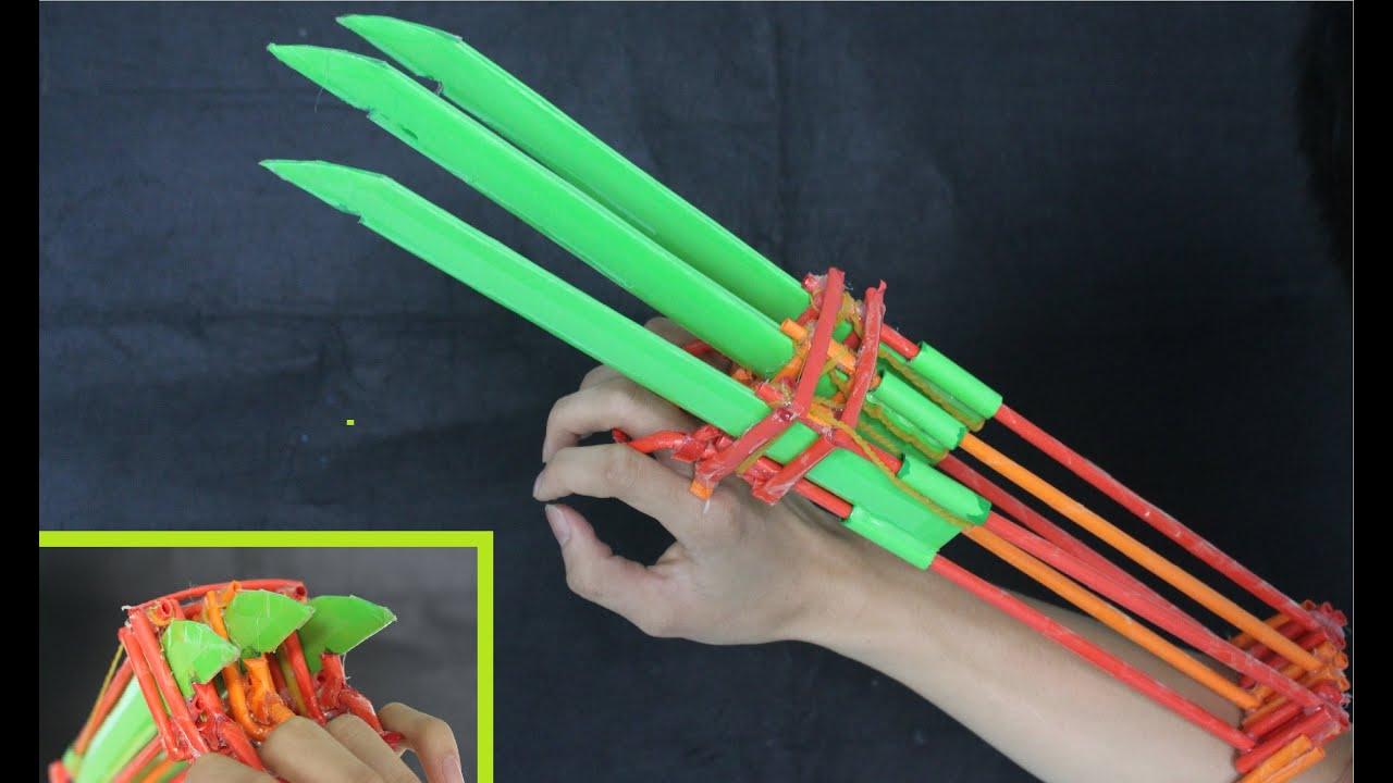 Как сделать своими руками бумажный меч