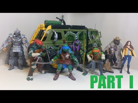 TMNT 2014 Movie Toys Review PT 1