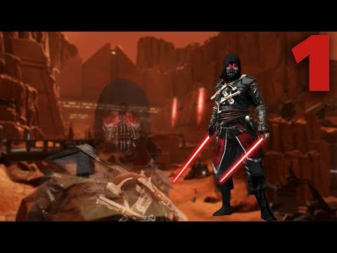 Star Wars: The Old Republic – No Commentary – Sith Warrior Darkside Walkthrough – Part 1