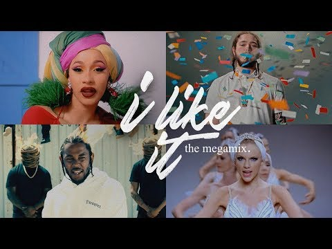 I Like It (The Megamix) 2018 - A.Grande · Khalid · Demi & More - T10MO