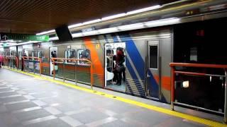 釜山都市鉄道1号線1000系 釜山駅発車