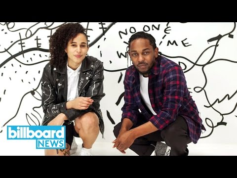 Download Youtube: Kendrick Lamar & Visual Artist Shantell Martin Give Mind Blowing Art Basel Show | Billboard News