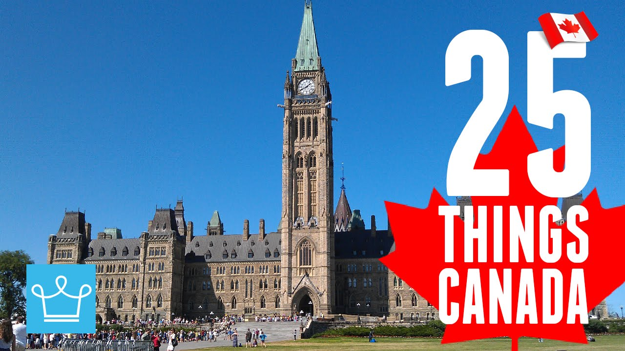 17c48cc7d36c 25 Things You Didn't Know About Canada - YouTube