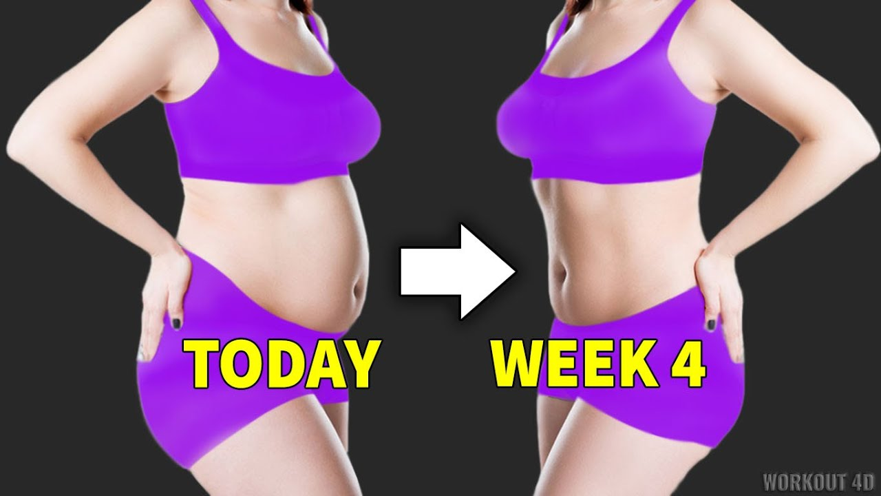 Morning Workout For Belly Fat | 4 Weeks Routine